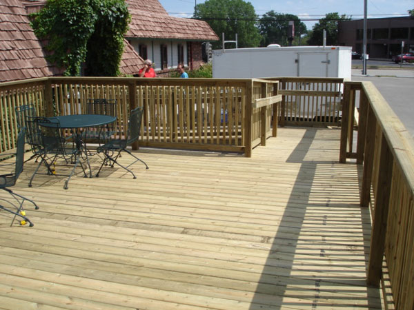Commercial deck builder - deck by Mischler and Sons