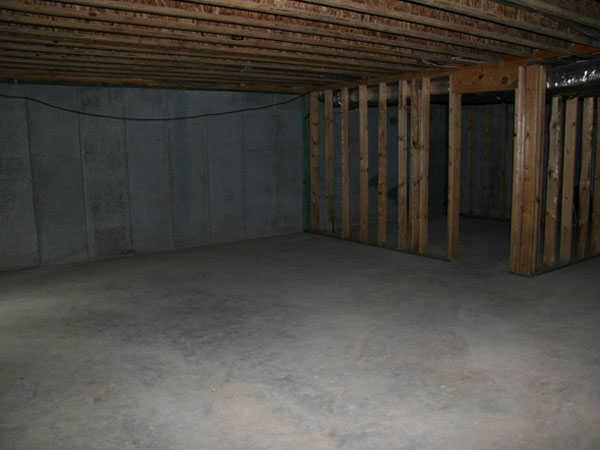 Unfinished basements can provide excellent usable space when renovated