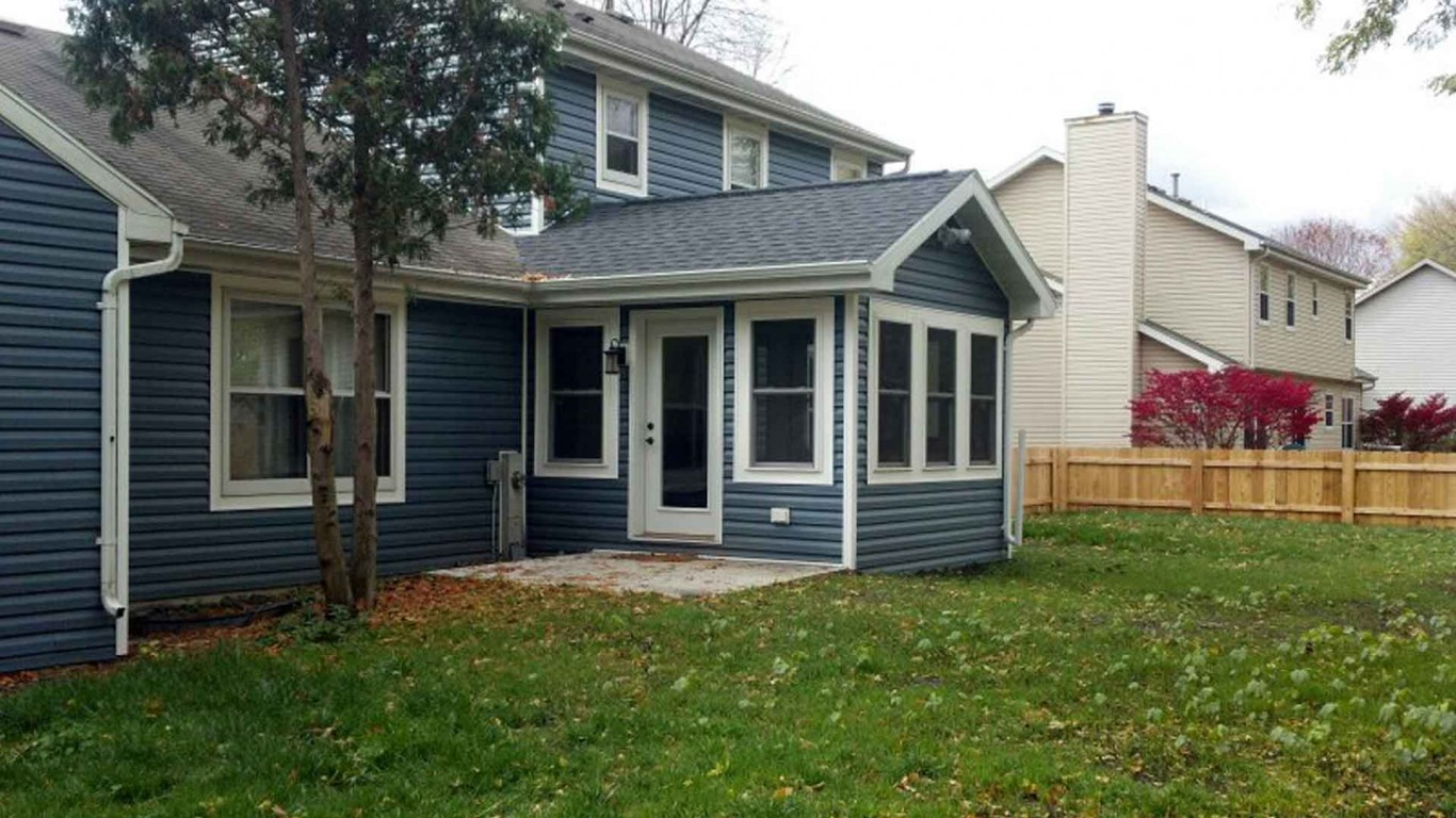 Home addition and new vinyl siding