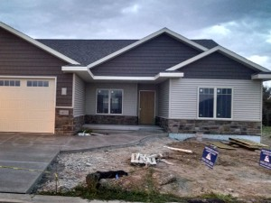New home construction by Mischler and Sons Construction